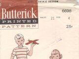 Butterick 6698 B