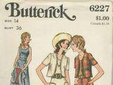 Butterick 6227 B