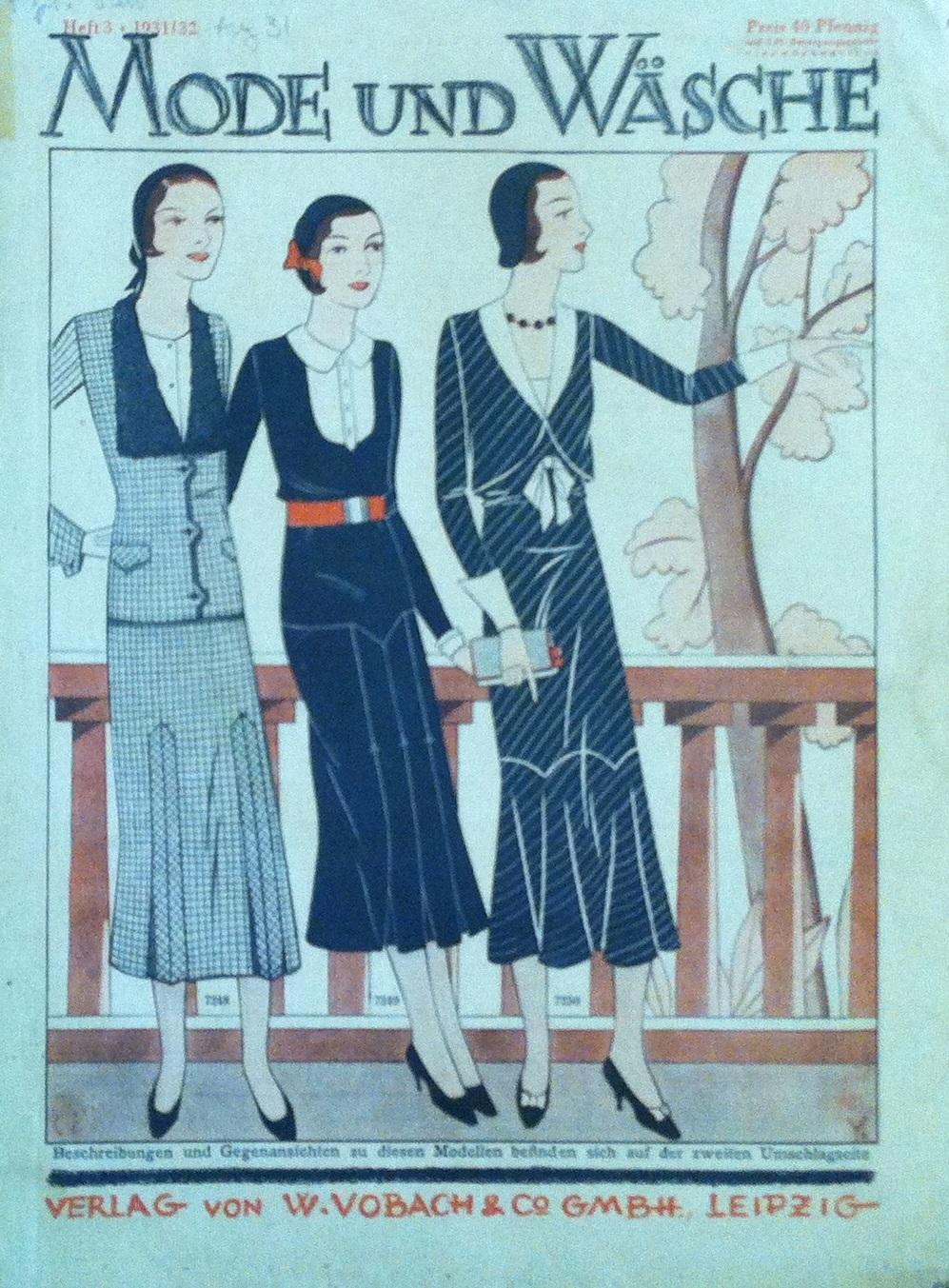 Mode und Wäsche No. 3 1931/32