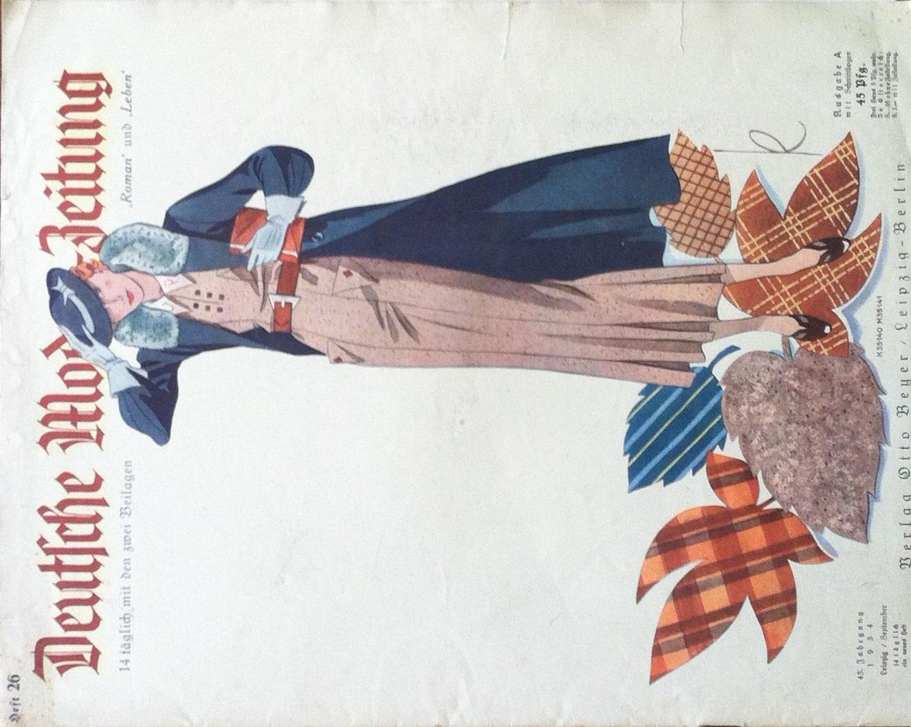 Deutsche Moden-Zeitung No. 26 Vol. 43 1934