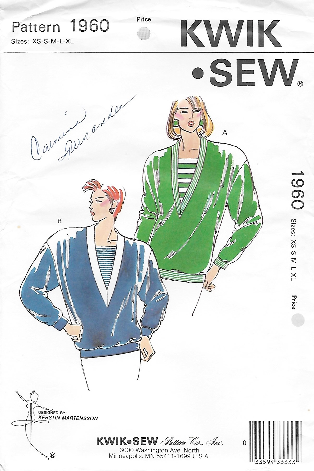 Kwik Sew 1960