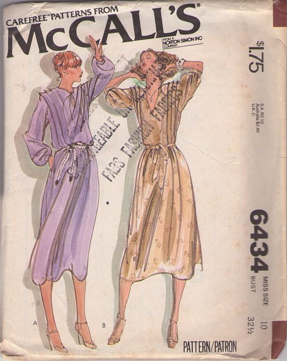 McCall's 6434 A