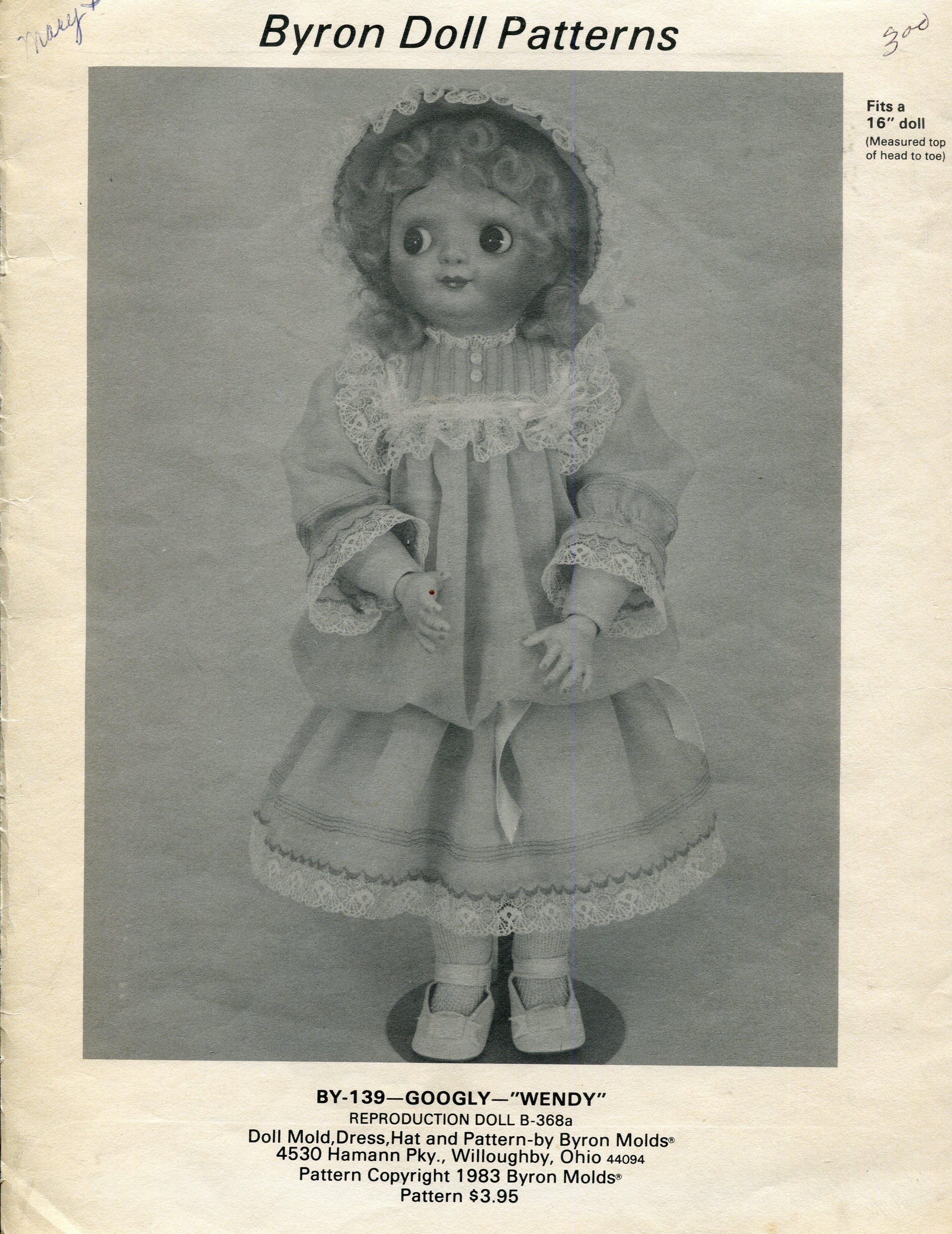 Byron Doll Patterns BY-139