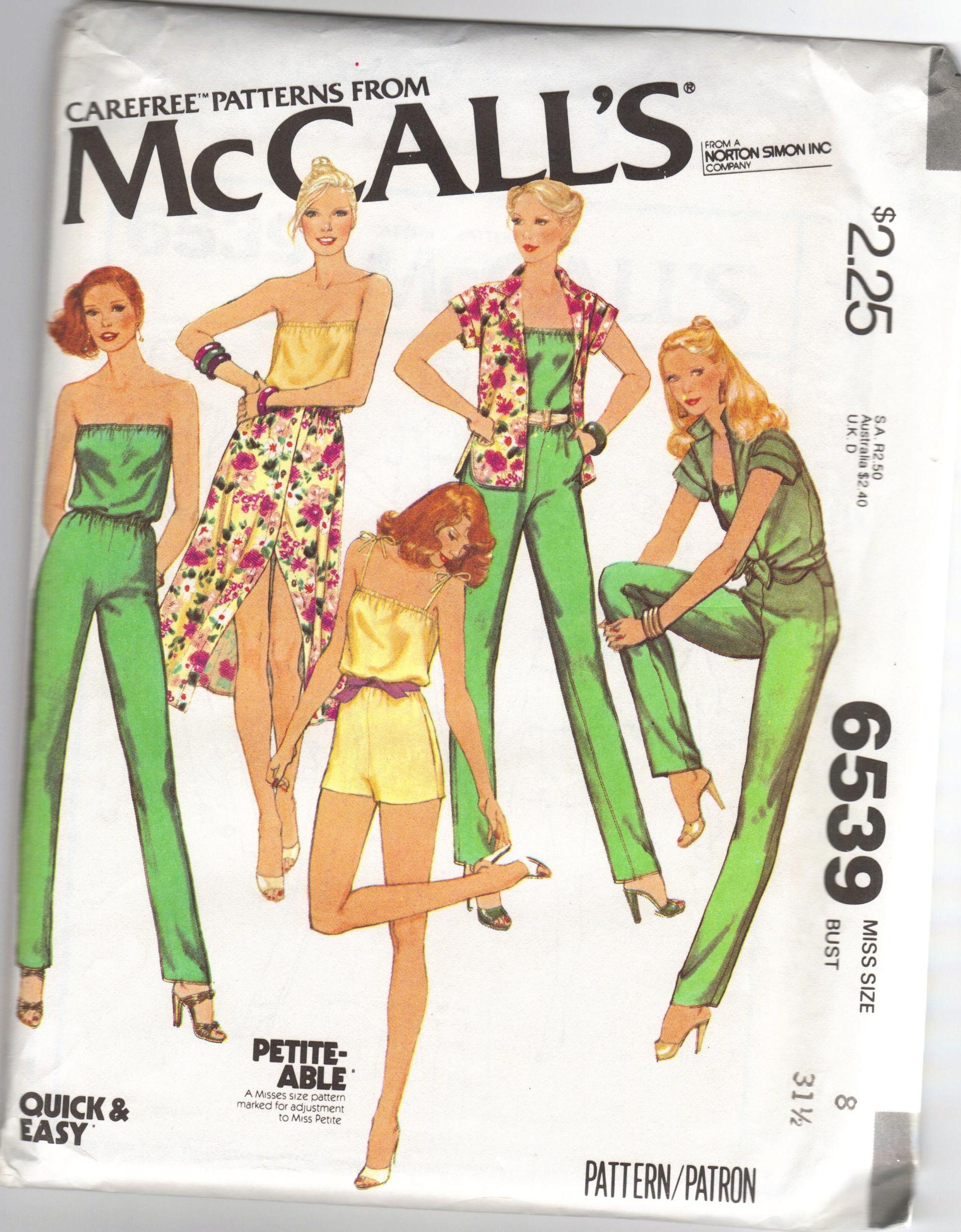 McCall's 6539