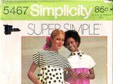Simplicity 5467