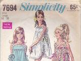 Simplicity 7694 A