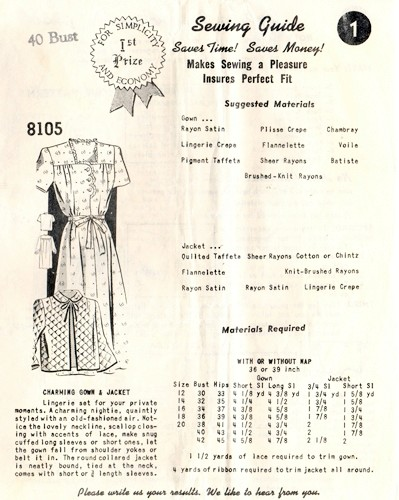 Mail Order 8105