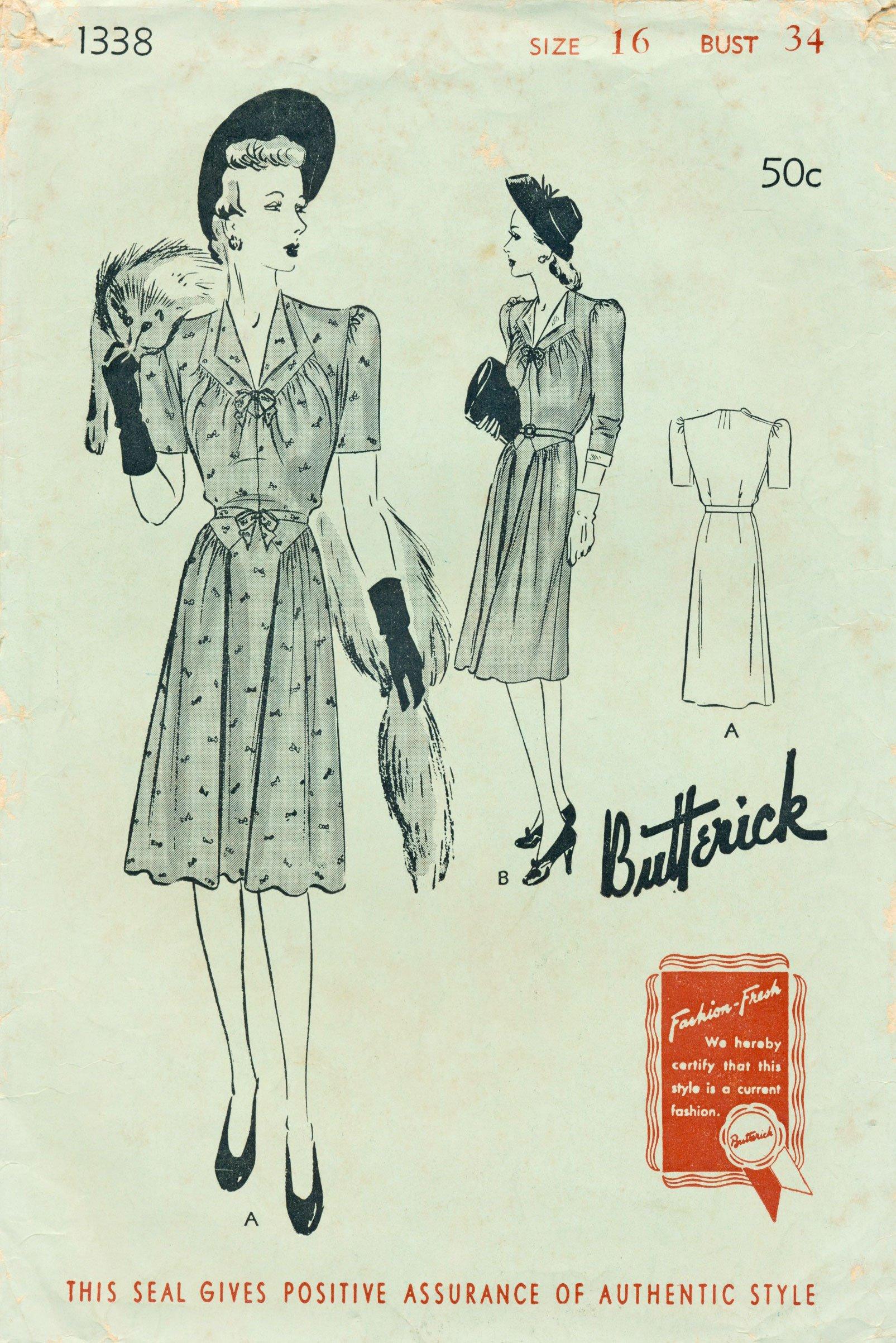 Butterick 1338