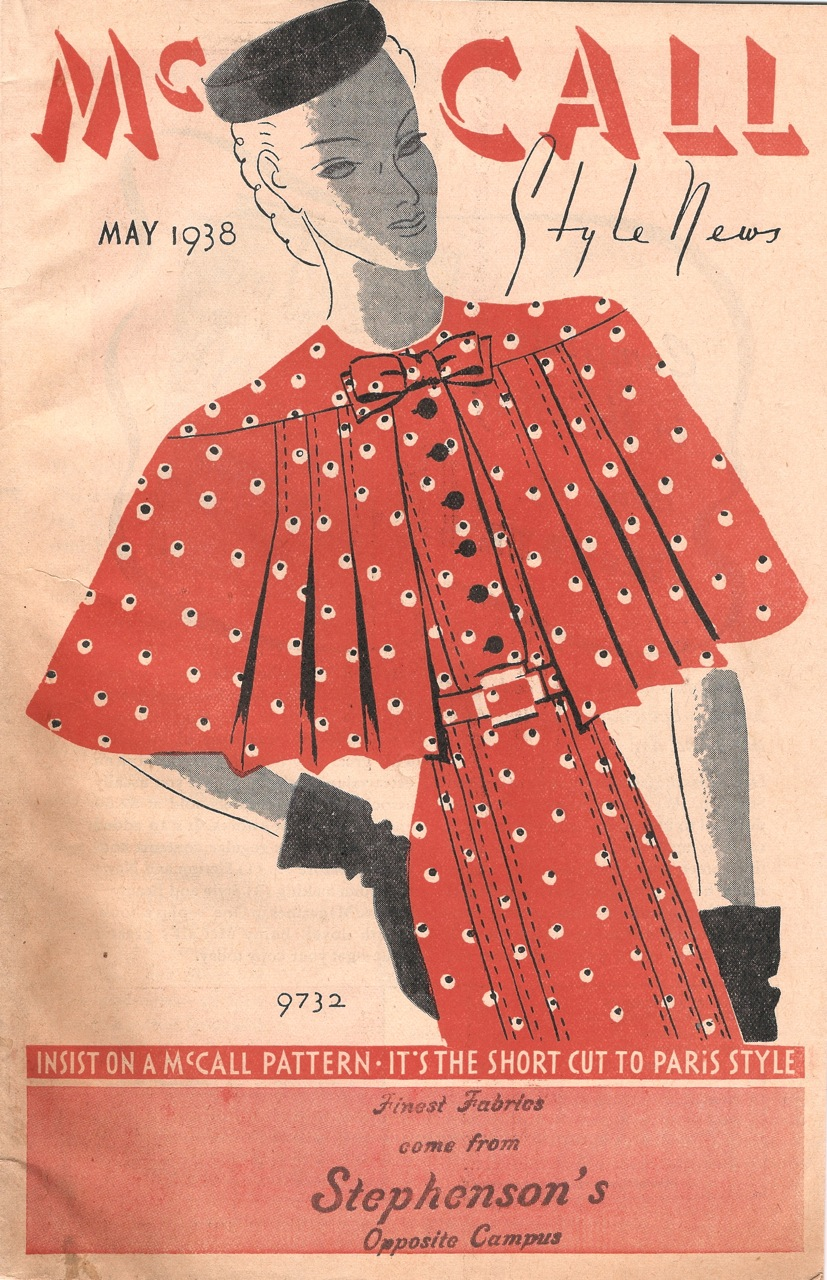 McCall Style News May 1938