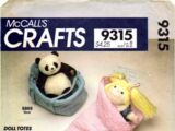 McCall's 9315 A