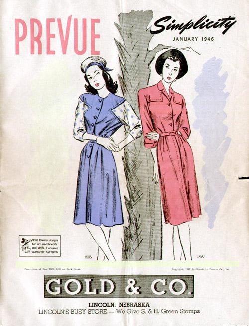 Simplicity Prevue January 1946