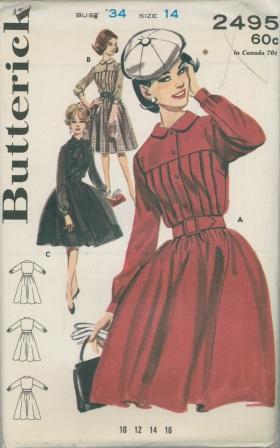 Butterick 2495 A