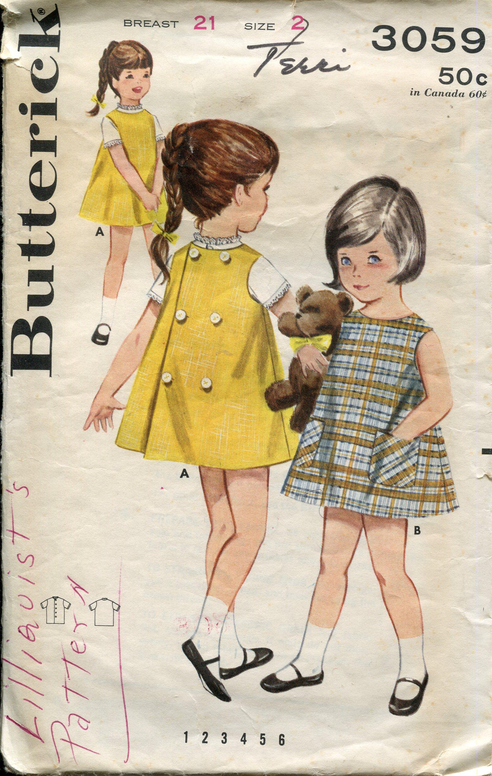 Butterick 3059 B