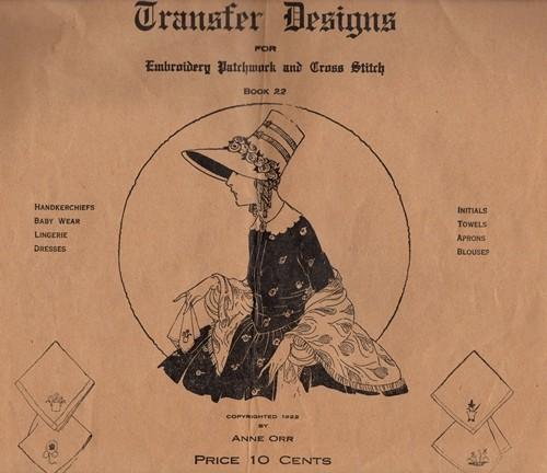 Anne Orr Transfer Designs Book 22