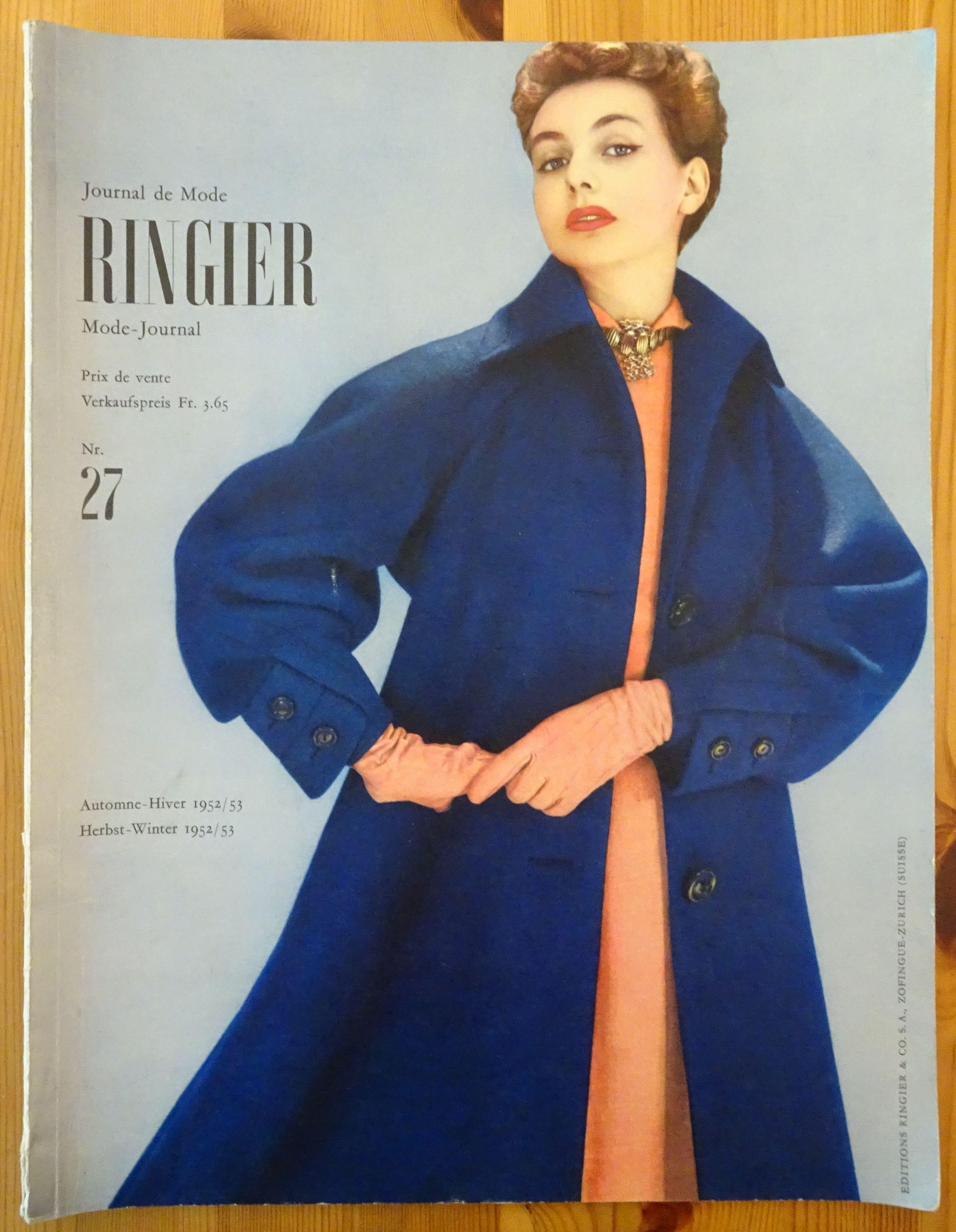 Ringier Journal de Mode Autumn/Winter 1952/53
