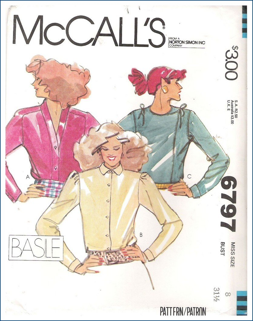 McCall's 6797 A