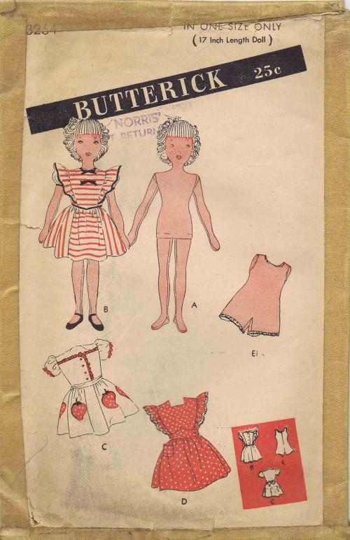 Butterick 3254 A
