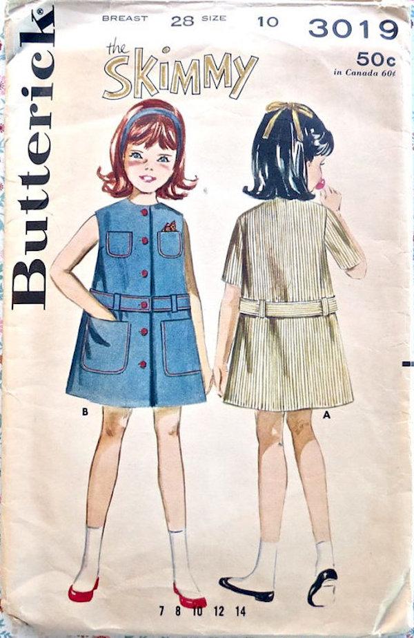 Butterick 3019 A
