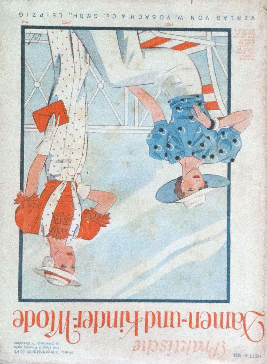 Praktische Damen- und Kinder-Mode No. 9 1935