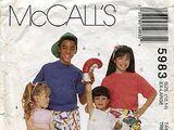 McCall's 5983 A