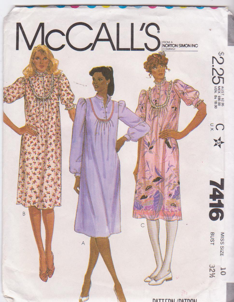 McCall's 7416