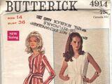Butterick 4914 A
