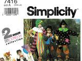 Simplicity 7416 C