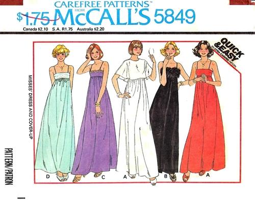 McCall's 5849