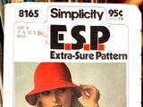 Simplicity 8165 A