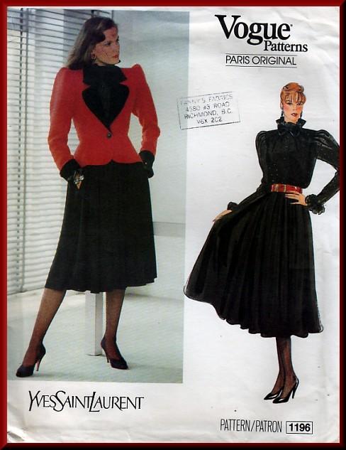 Vogue 1196 A