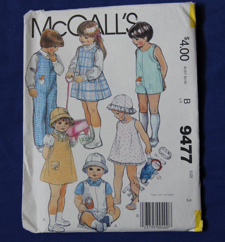 McCall's 9477 B