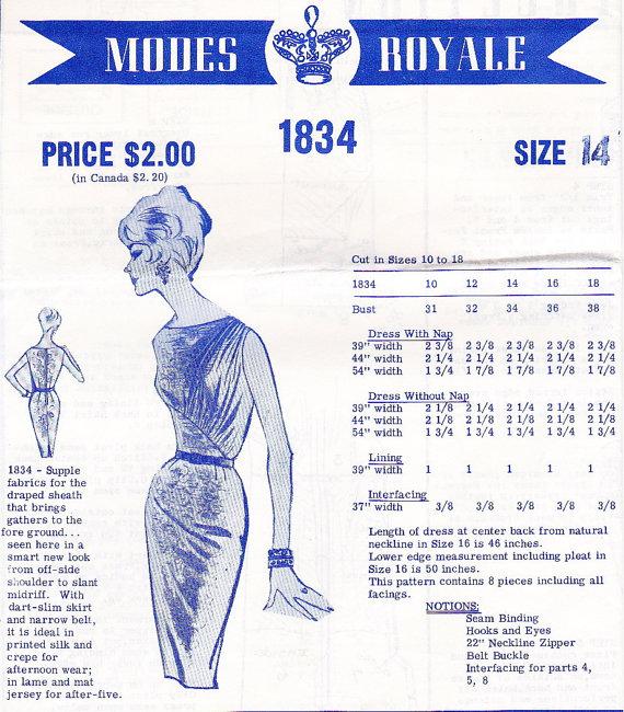 Modes Royale 1834