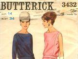 Butterick 3432