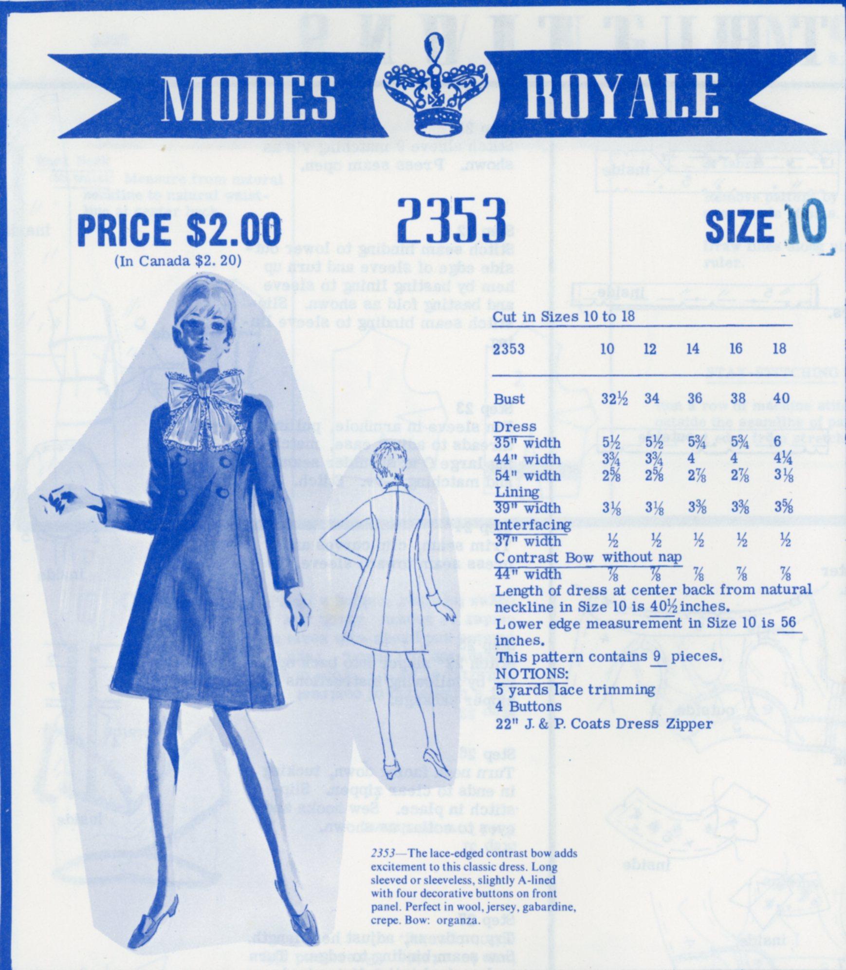 Modes Royale 2353