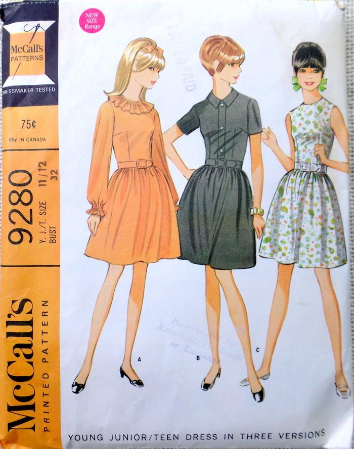 McCall's 9280 A