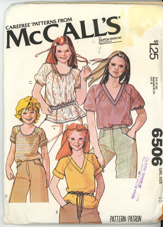 McCall's 6506