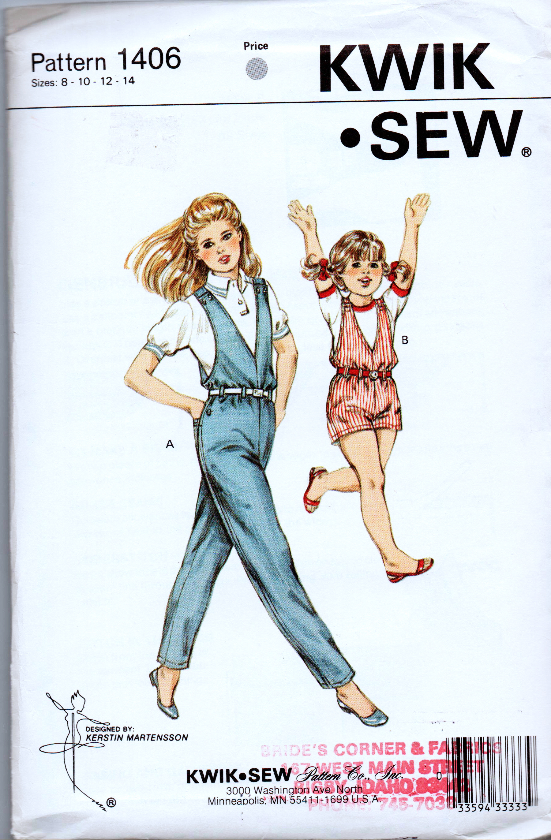 Kwik Sew 1406