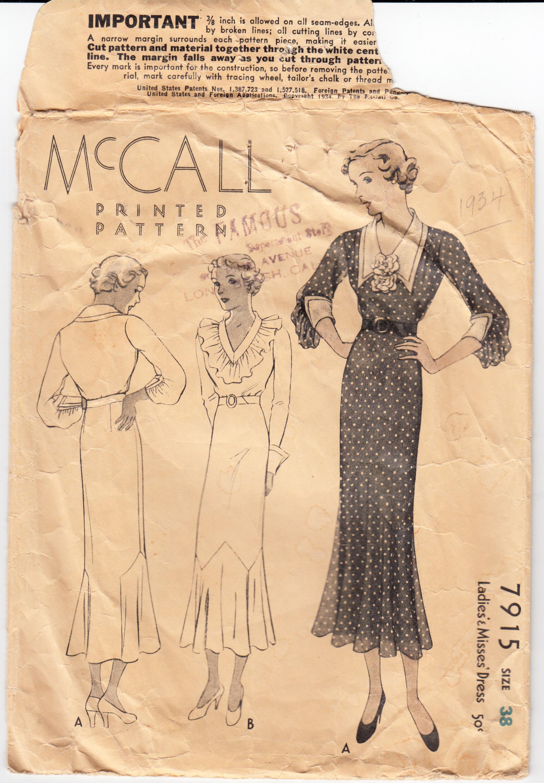 McCall 7915 A