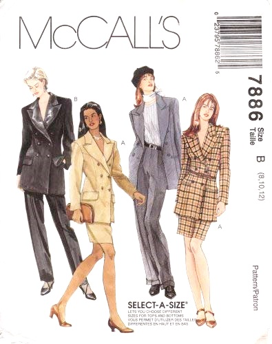 McCall's 7886 B
