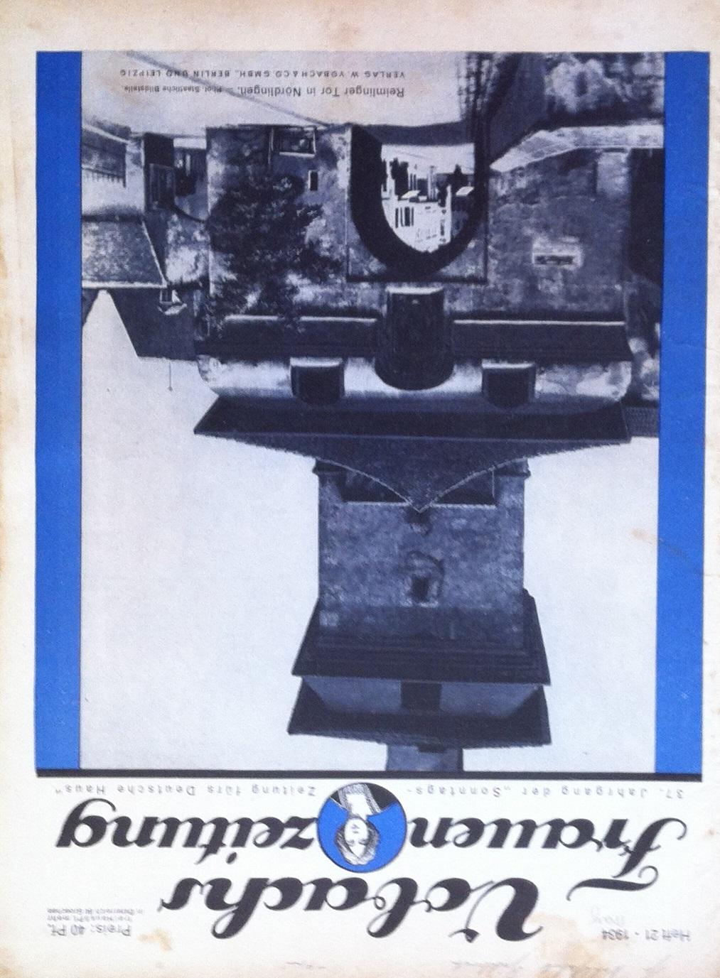 Vobachs Frauenzeitung No. 21 Vol. 37 1934