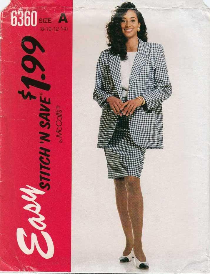 McCall's 6360 B