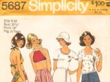 Simplicity 5687