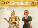 Simplicity 5897 B