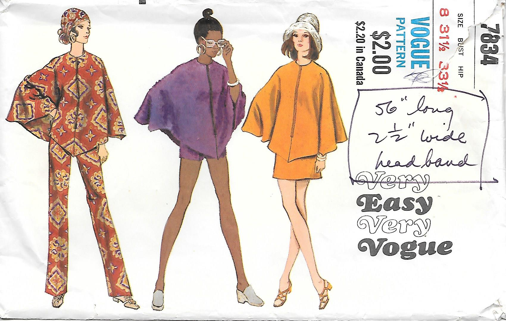 Vogue 7834 A