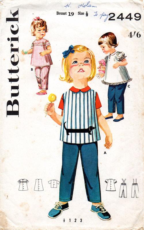 Butterick 2449 A