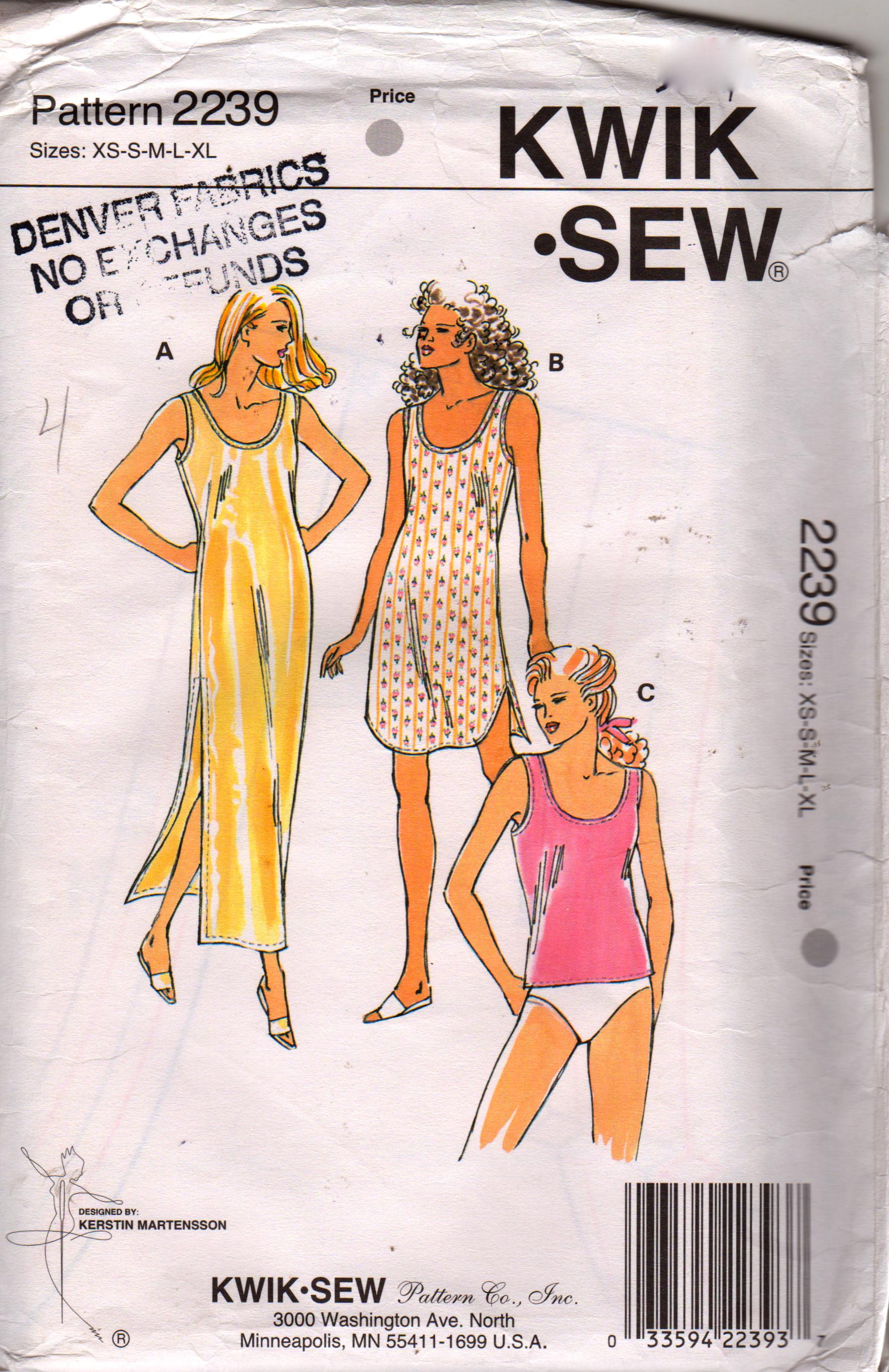 Kwik Sew 2239
