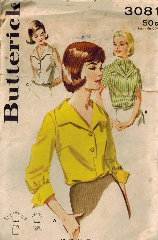 Butterick 3081 A