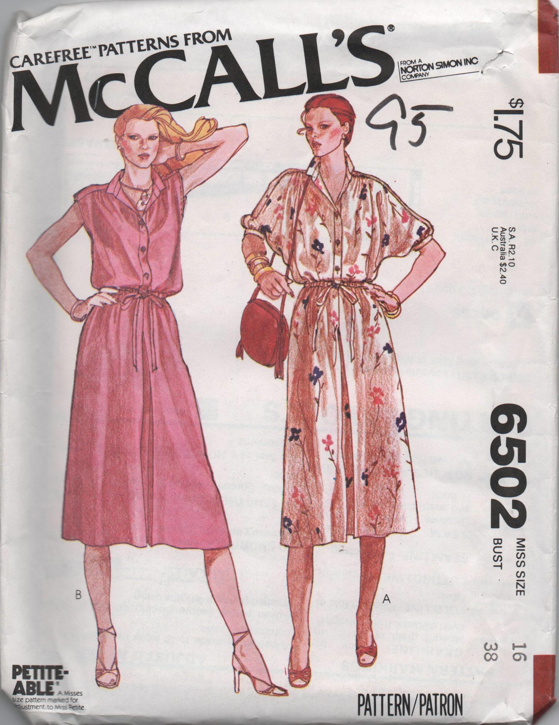 McCall's 6502