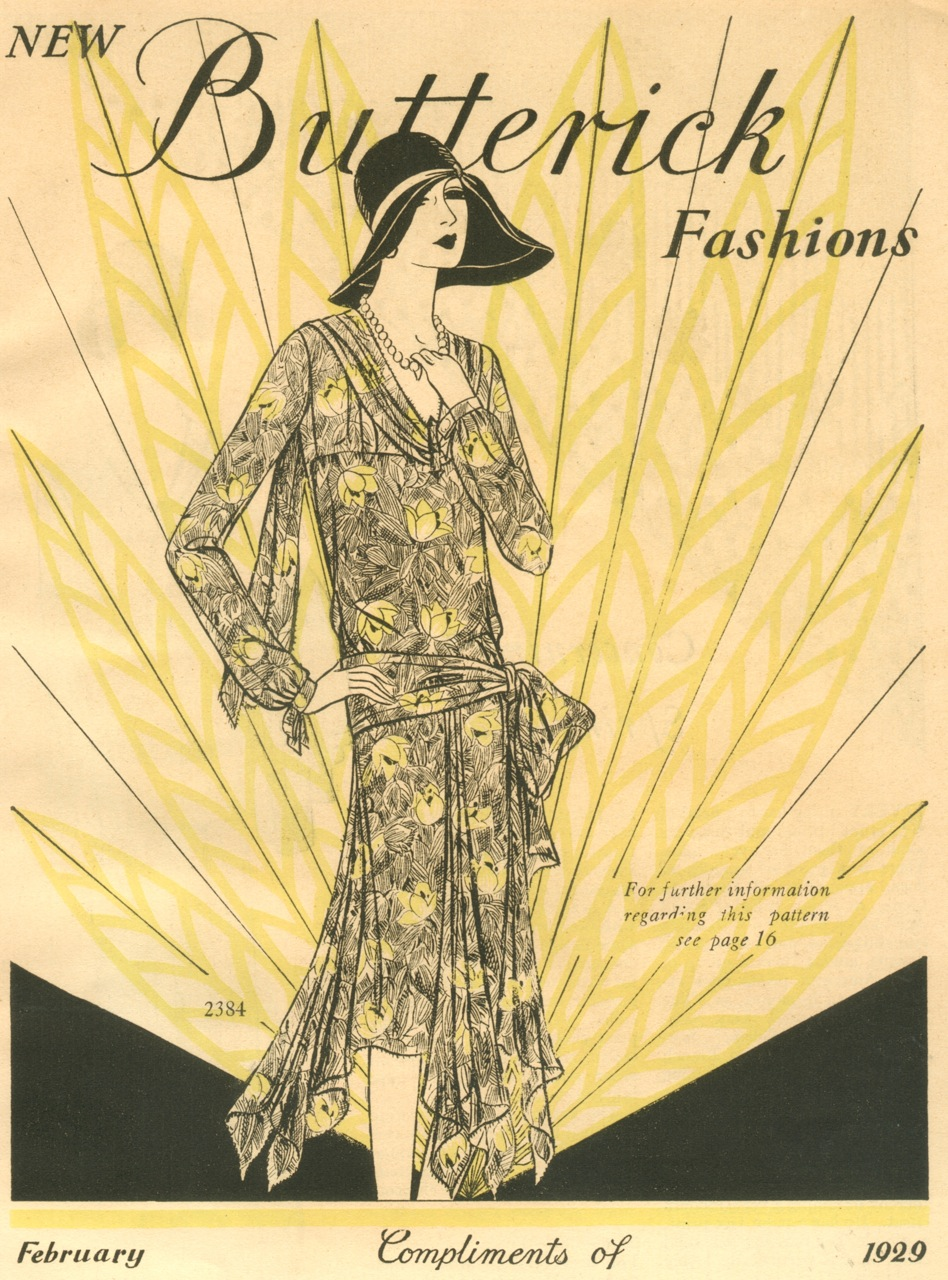 Butterick Fashions February 1929