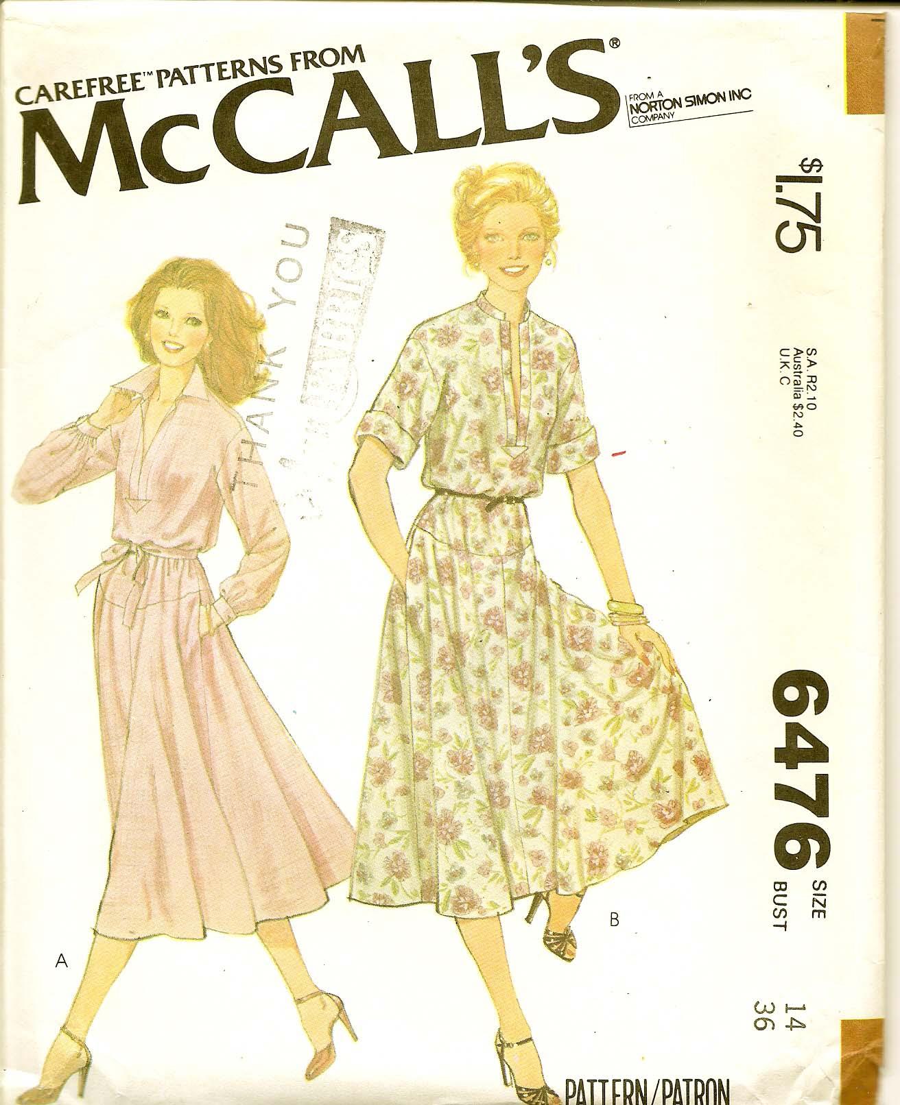 McCall's 6476